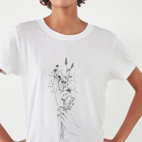 Future State Floral Hands Tee | Urban Outfitters