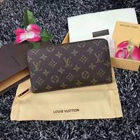 Small Women LV Leather Chain Bag Clutch