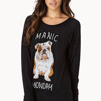Manic Monday PJ Sweatshirt
