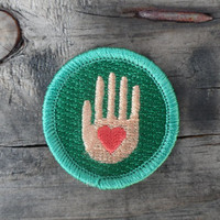 Helping Hand 'Service' Scout-Style Merit Badge