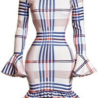 London Checkmate Dress