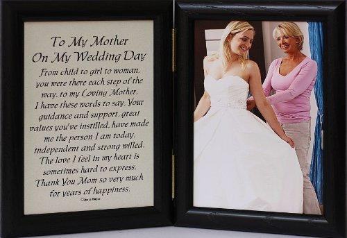 Gifts For Mothers On Wedding Day: 5x7 Hinged TO MY MOTHER ON MY WEDDING DAY From Amazon