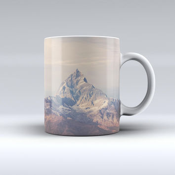 The Paramountain Top ink-Fuzed Ceramic Coffee Mug