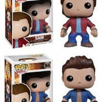 SUPERNATURAL SAM & DEAN POP TV VINYL FIGURE COMBO