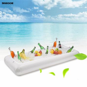 Inflatable Beer Table Pool Float Summer Water Party