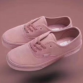 shosouvenir VANS pink fashion casual shoes
