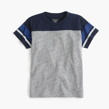Boys' heathered stripe T-shirt