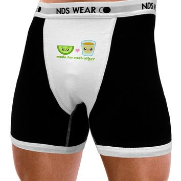Cute Tequila Shot and Lime - Made For Each Other Mens NDS Wear Boxer Brief Underwear by TooLoud