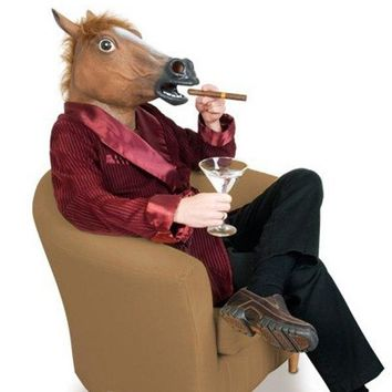 Novelty Full Latex Horse Masks