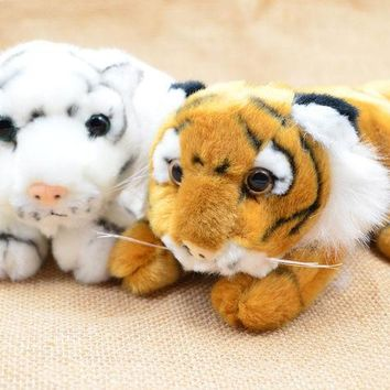CREYONJ BOHS Plush Tigers Cub King of Animals Stuffed Toys