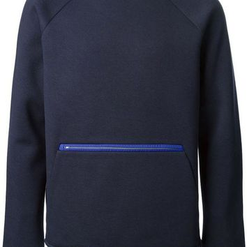 DCCKIN3 T By Alexander Wang zip detail sweatshirt