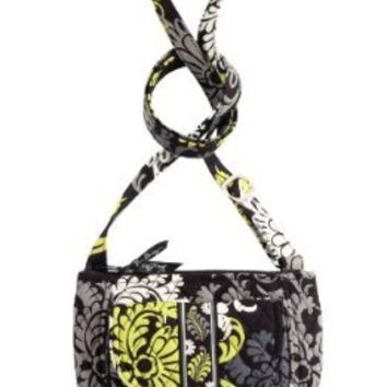 Vera Bradley Lizzy Shoulder / Cross body Bag in Baroque