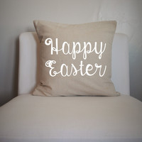 Happy Easter Pillow Cover