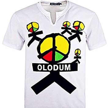 Michael Jackson Olodum Peace T-shirt They Don't Care About Us Anti War Shirts