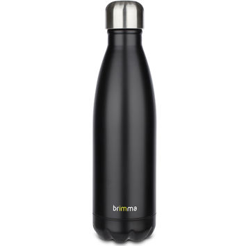 Insulated Stainless Steel Water Bottle - 17 oz - Black