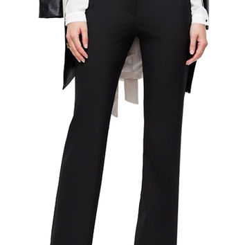 Straight Leg Boot Cut Performance Yoga Dress Pants