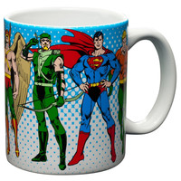 DC Comics - Heroes Coffee Mug