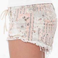 Billabong Lite Hearted Frayed Stretch Short