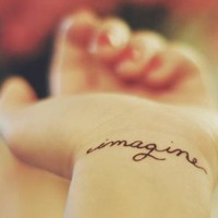Tatoo IMAGINE | via Facebook