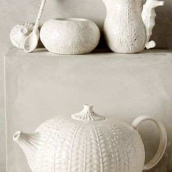 Ocean Explorer Tea Set by Anthropologie White Teapot House & Home