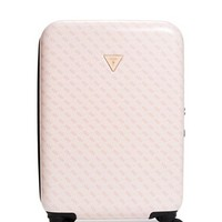 "La Vida Logo 18"" 4-Wheel Suitcase at Guess"