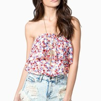 Bright Bloom Bubble Top