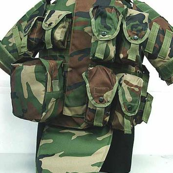 Bulletproof Vest CS Multifunction Combat Camouflage Super Protective Tactical Vest