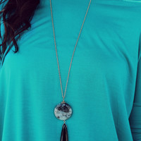 Nature Is Calling Necklace