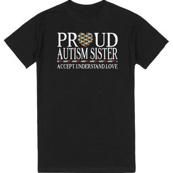 Proud Autism Sister Autism Awareness