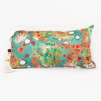 Home Decor 'feathers, flowers, showers' Accent Pillow