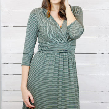 As Seen on You Dress- Olive