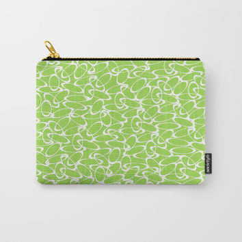 Green Circle of Dreams  Carry-All Pouch by Robleedesigns
