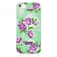 Retro Villatic Style Garden Frosted Case For iPhone
