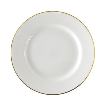 13/4L x 1H Gold Line Dinner Plate/Case Of 24
