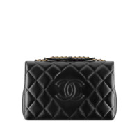 Lambskin flap bag - CHANEL