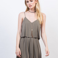 Super Soft Tiered Romper