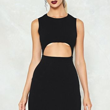 Cut-Out of this World Bodycon Dress
