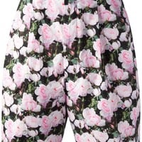Givenchy Rose Print Short