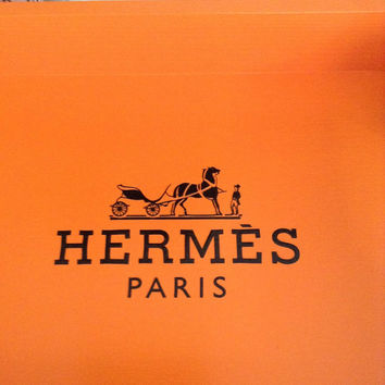 Hermes Orange Replica Tray