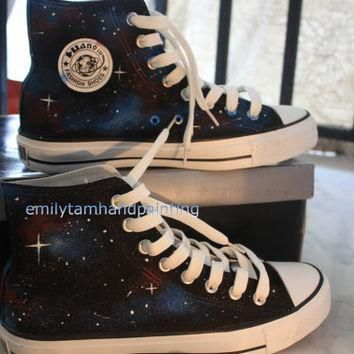 galaxy converse shoes newest galaxy design hand painted galaxy kicks