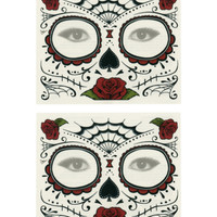 Day Of The Dead Temporary Tattoos