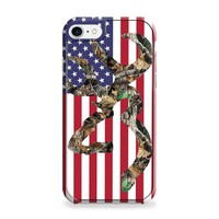 Browning Deer Camo American Flag iPhone 7 | iPhone 7 Plus Case