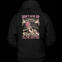 Fairy Tail - DON'T GIVE UP Natsu Dragneel - Unisex Hoodie T Shirt - TL01128HO