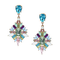 Multicolor Stone Earrings