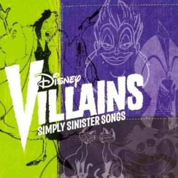 CREYCY2 DISNEY VILLAINS:SIMPLY SINISTER SONGS