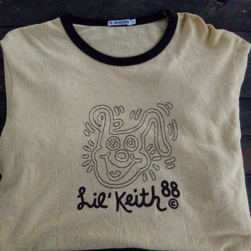 Lie Keith88 keith haring vintage   pop art andy warhol