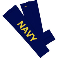 Navy Letters Arm Sleeves