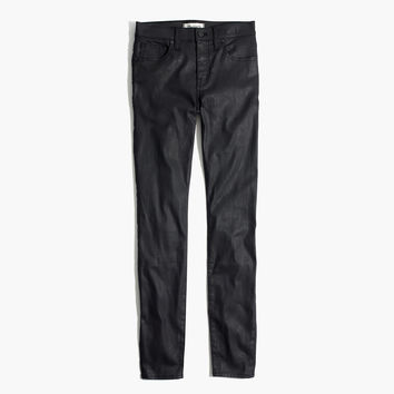 "9"" High-Rise Skinny Jeans: Coated Edition : 