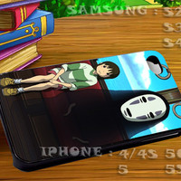 Spirited Away Studio Ghibli Ghost For iphone 4 iphone 5 samsung galaxy s4 / s3 / s2 Case Or Cover Phone.