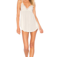 Only Hearts Venice Babydoll With Lace Cups in White